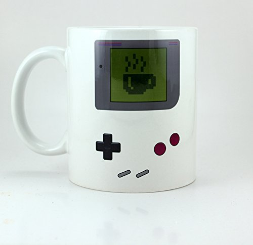 Digital Gameboy Mug 11oz Ceramic Coffee Mug by Cotton Cult
