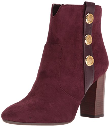 Dominio Stivaletto Hilfiger Tommy Delle Donne Bordeaux nS1xZA