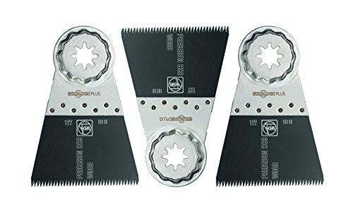 - Fein 63502127270 Precision Oscillating Blade (3 Pack), 2-9/16 x 2