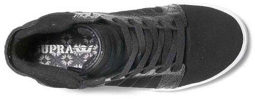 Supra Skytop S18091 - Zapatillas de ante para hombre Black Croc /White