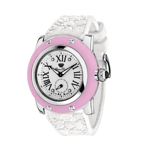 Glam Rock Womens GR30015RW Summer Time Collection Pink Silicone Watch