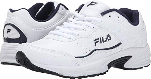 Fila Men's Memory Sportland Running Shoe  US, White Navy)