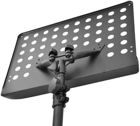 Schubert Atril metálico para músicos conciertos Amantes de la música (Mesa Altura Ajustable 62 cm a 115 cm, tripode Extensible, pies Antideslizantes, Ideal para partituras) Color Negro: Amazon.es: Electrónica