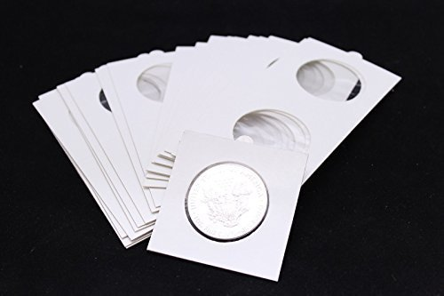 100 TOP QUALITY MYLAR 2.5x2.5 Carboard & Mylar Flps for AMERICAN SILVER EAGLE