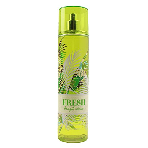 Bath and Body Works Fine Fragrance Mist Fresh Brazil Citrus 2017 (Pink Dragon Fruit Bath And Body Works)