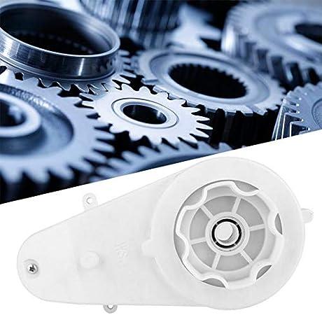 NO LOGO WJN-Motor, 1pc Juguete Blanco de vehículos de Motor eléctrico Caja de Engranajes de