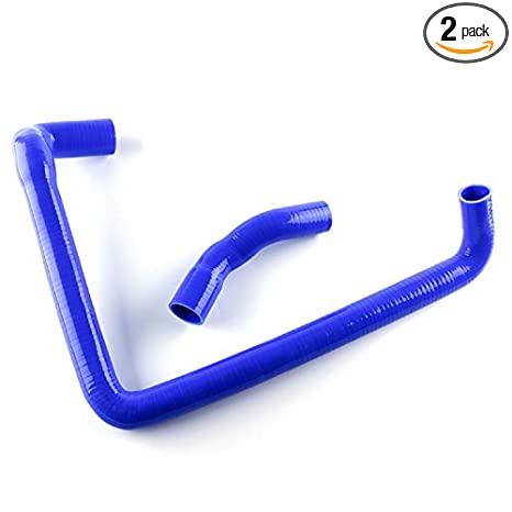 Fishing_life For Silicone Radiator Hose For Nissan 300ZX Twin Turbo GCZ32 Fairlady VG30DETT Blue