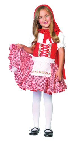 Lil Miss Red Child Costume (Medium)