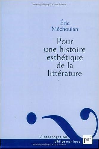 En ligne téléchargement gratuit Pour une histoire esthétique de la littérature pdf, epub
