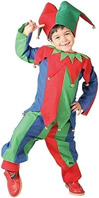 Disfraz de Bufón (Talla 10-12 años): Amazon.es: Juguetes y juegos