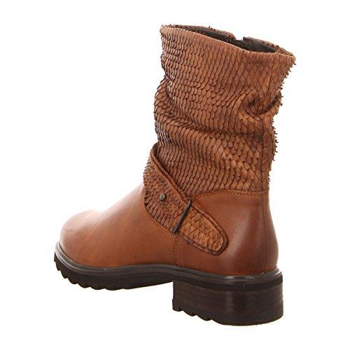 SPM 20137215 Cuoio - Botas de Piel para mujer marrón