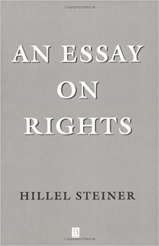 com an essay on rights hillel steiner books