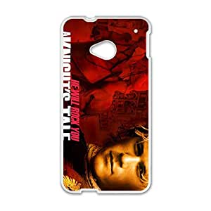 He Will Rock You New Style High Quality Comstom Protective case cover For HTC M7