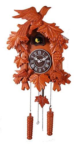 (14-inch Classic Birds and squirrels Cuckoo Clock, Home Decor, Specialty Quality, Quartz Timepieces - C00129)