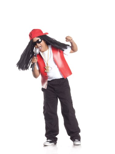 Party King Hip Hop Star Child Costume, 4-6 by Party King