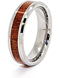 Amazon.com: Other Materials - Wood / Wedding Rings / Jewelry ...