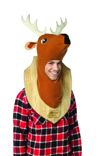 Rasta Imposta Oh Deer Trophy Costume, Brown, One Size]()