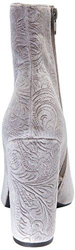 Windsor Smith Vianna, Stivaletti Donna Multicolore (Wss/Slate Slate Velvet Floral)
