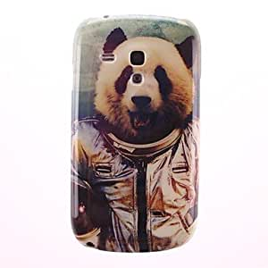 LIMME Lovely Panda Pattern PC Hard Case for Samsung Galaxy S3 Mini I8190