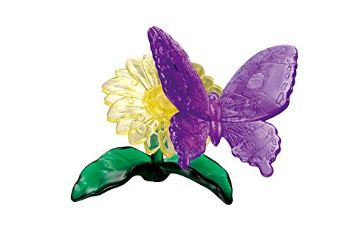 Crystal Gallery 38 pieces purple butterfly 50145