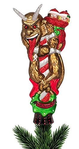 Accoutrements Krampus Glass Tree Topper