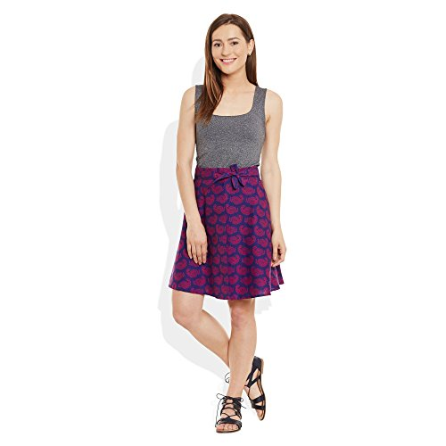 ShalinIndia - Camisola - para mujer Purple Wine 1