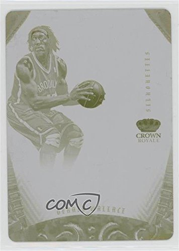 Gerald Wallace #1/1 (Basketball Card) 2012-13 Panini Preferred - Silhouettes - Printing Plate Yellow #268