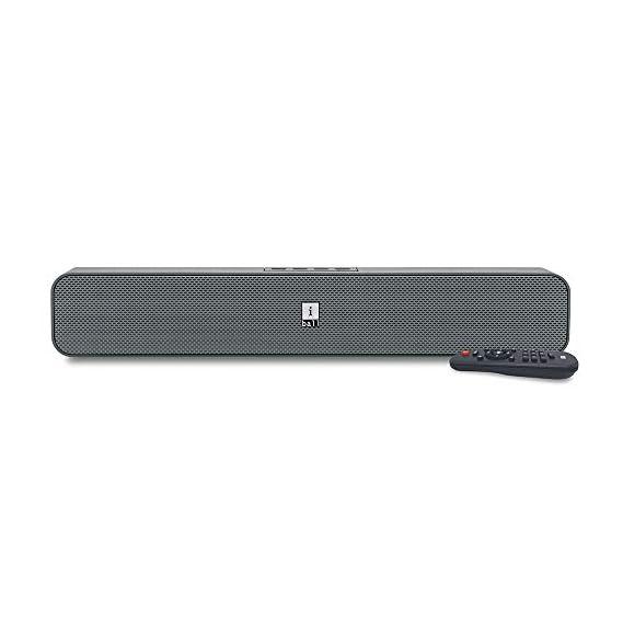 (Renewed) iBall Musi Bar High Power Compact Soundbar with Multiple Playback Options, Grey