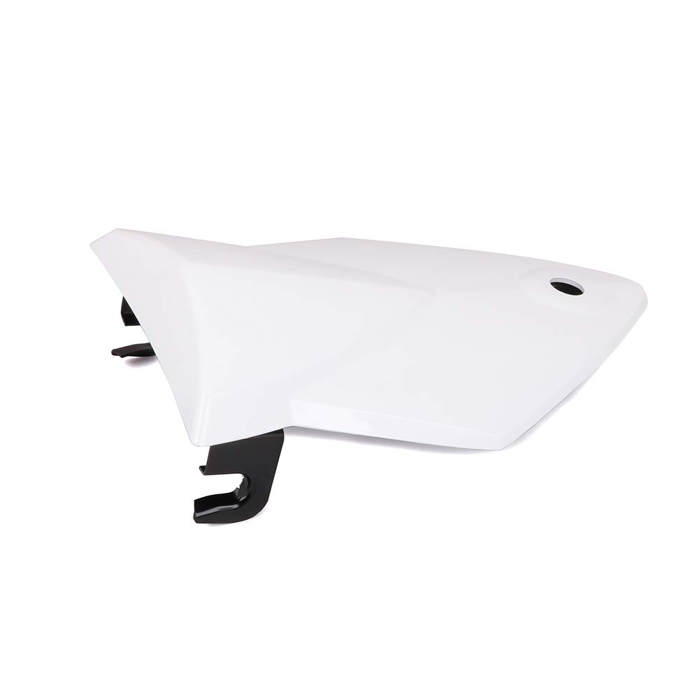 JFG RACING Motorcycle Rear Seat Cowl Passenger Pillion Fairing Tail Cover For BMW S1000RR 09-14 White
