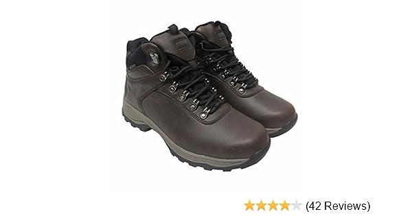 amazon com khombu s waterproof leather hiking boots hiking
