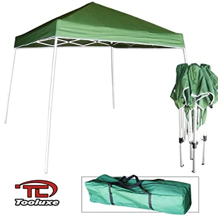 Amazon.com Tooluxe 61649L Easy Up Pop Up Tent/Canopy with Instant Folding | 10 x 10-Feet Garden \u0026 Outdoor  sc 1 st  Amazon.com & Amazon.com: Tooluxe 61649L Easy Up Pop Up Tent/Canopy with Instant ...