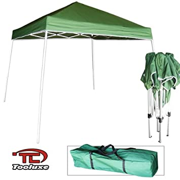 Tooluxe 61649L Easy Up Pop Up Tent/Canopy with Instant Folding | 10 x 10  sc 1 st  Amazon.com & Amazon.com: Tooluxe 61649L Easy Up Pop Up Tent/Canopy with Instant ...