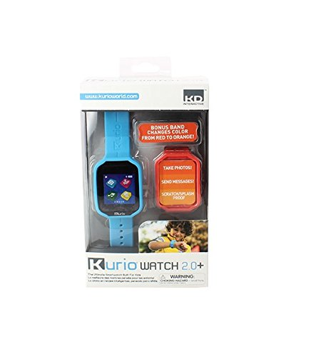 Kurio Watch 2.0+ The Ultimate Smartwatch Built for Kids with 2 Bands, Blue and Color Change by KD Interactive (Image #8)
