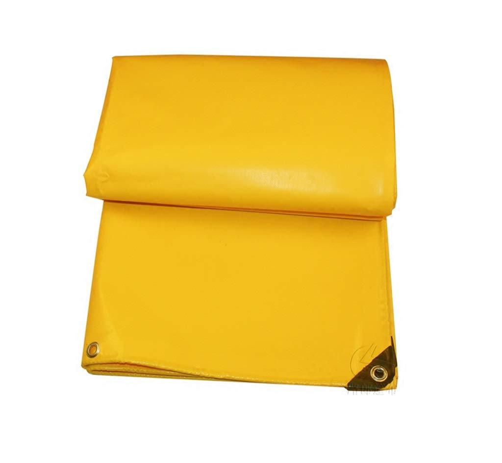 QQHWDT LYX® Goldene PVC-Messer-Schaber-regendichte Tuch-Plane-Wasserdichter Sunscreen-Schuppen-Stoff verdicken Leinwand Pushop-Oberstoff