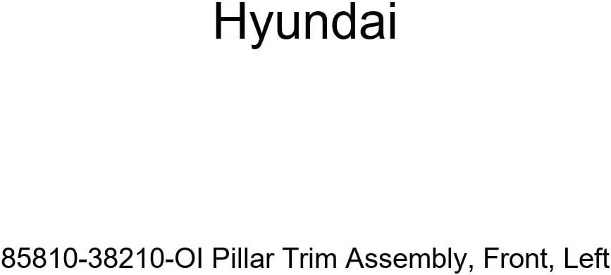 Genuine Hyundai 85810-2D000-OI Pillar Trim Assembly Left Front