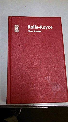 (1968 Rolls Royce Silver Shadow Handbook)