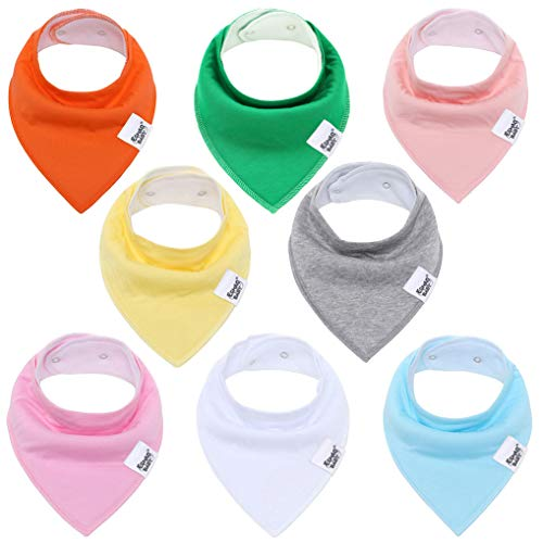 Udolove Absorbent Drooling Teething Colorful product image