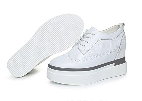 muffin dentelle épais Mme simple fond chaussures UK6 sport chaussures à dascenseur dames EU39 chaussures US8 Spring de en CN39 chaussures YCxxwpqS