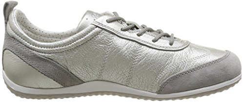 Geox Zapatillas Q22 White Para Gris Grey Mujer Vega D Lt Plateado off aArtqAO