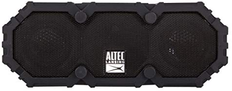 Altec Lansing Imw477 Mini LifeJacket 2 Bluetooth Speaker, IP67 Waterproof, Shockproof, Snowproof and IT FLOATS Ranking, with 10 Hours of Battery Life, 30 Foot Wi-fi Vary, Black