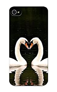 New Arrival Swans For Iphone 5/5s Case Cover Pattern For Gifts