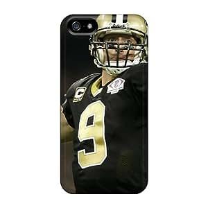 Excellent Design Drew Brees Throwing Phone Case For Iphone 5/5s Premium Tpu Case