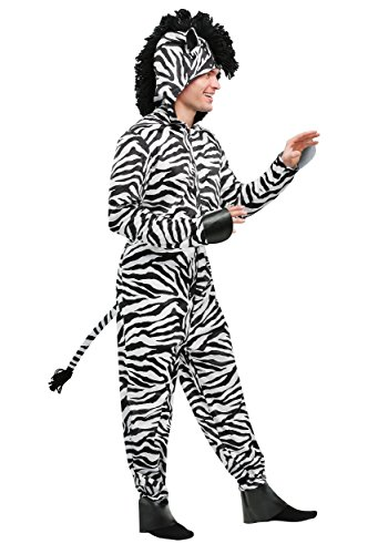Wild Zebra Mens Costume X-Large]()