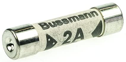 10x 2A 2 Amp Bussmann BS1362 Domestic Electrical Household Home and Office Mains Plug Top Cartridge Fuse