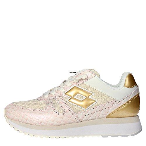 W Basse Sneakers Donna Wedge Tokyo S3024 rosa Oro Leggenda Lotto n0TqxwSE