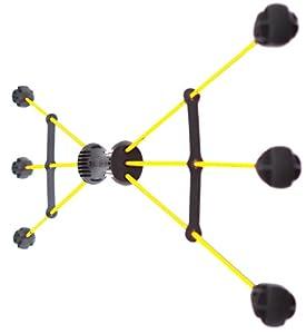 Raktor Schwungstäbe XBAR3, Gelb/Schwarz, 24002