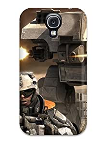 Fashionable Style Case Cover Skin For Galaxy S4- Battlefield142