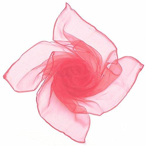 Candy Scarf (Yamalans Women Stylish Pure Candy Color Soft Chiffon Silk Neck Scarf Square Wrap Shawl)