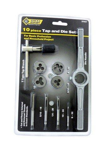 Steel Grip DR4827SAE 10 Piece SAE Tap & Die Set by Steelgrip