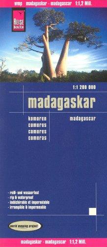 Madagascar & Comoros 1:1,200,000 Travel Map, waterproof, GPS-compatible REISE